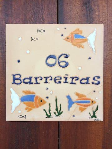 Suite Barreiras 2 cama casal+WC, Peroba/Icapui.
