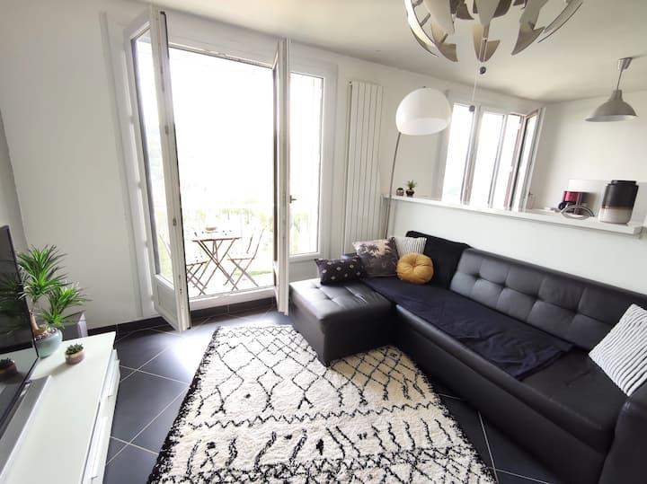 Appartement déco et cocooning