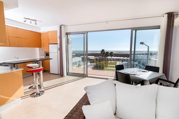 Bela Vista Fuseta - Appartement Toit terrasse