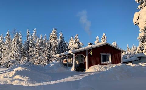 Wilderness and calmness in northern Sweden