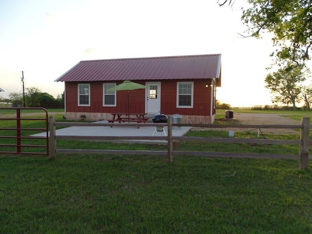 7D Ranch Bunkhouse Cabin #2 - Navasota - Blockhütte