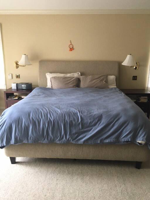 Master bed - Cal King