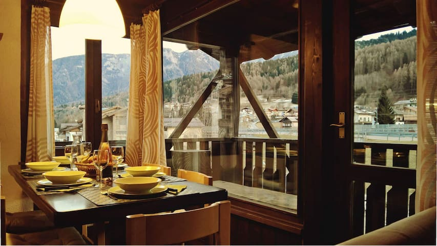 The mAso in Val di Sole: ski & nature - Mestriago - Apartemen