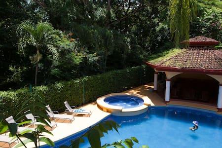 New 2 Br/2 Ba Beach Villa Trop Pool- Nosara- Wifi