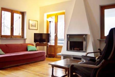 Beautiful flat with Mont Blanc view - Courmayeur