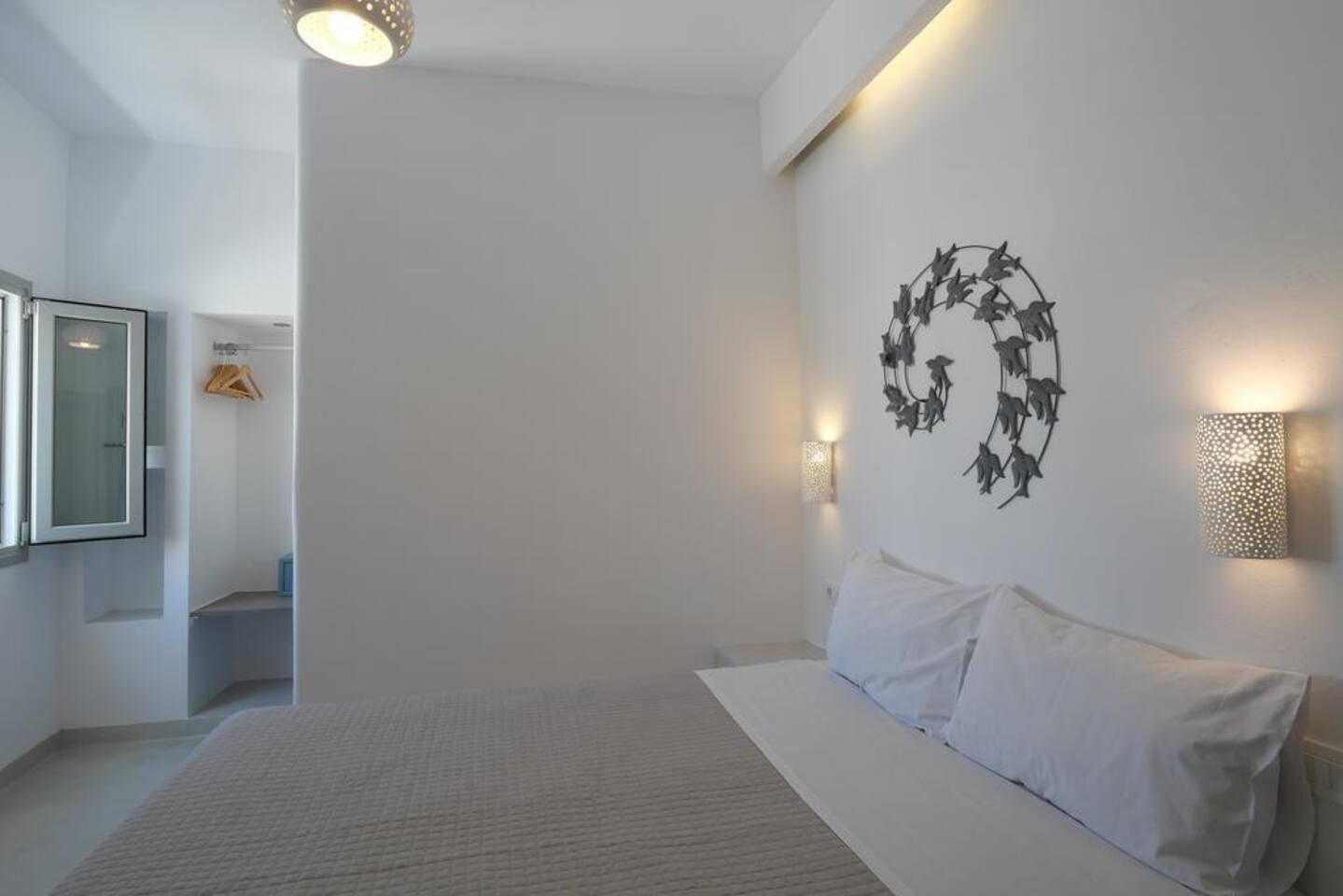 SANTORINI CENTER DOUBLE ROOM (BRAND NEW)