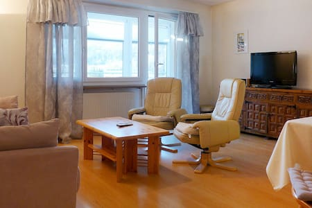 2-Zimmer-Wohnung für 2 Personen in St. Moritz - St. Moritz - Apartment