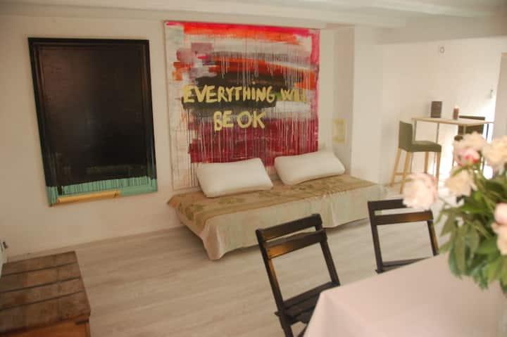 Appartment in villa. All facilities