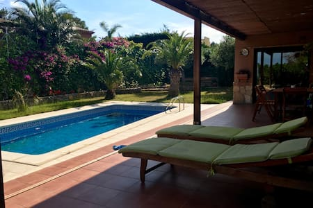 Nice villa with private pool and BBQ - Les Planes del Rei - Casa