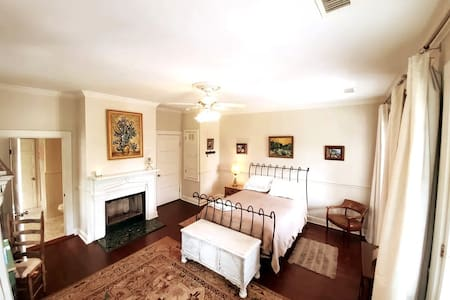 Historic 1860 Upstairs Suite with Gorgeous Balcony