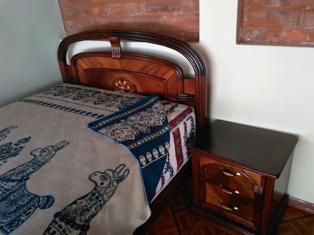 bed on the 1st floor