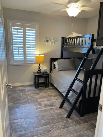2nd Bedroom- Full Bed on bottom and Twin Bed on top