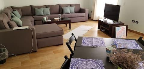 Nowy umeblowany apartament w wyróżniającej się dzielnicy