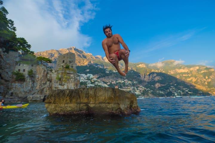 Crescenzo's guide for Positano