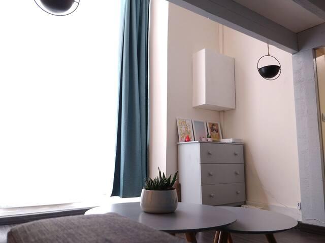 Appartement cosy en plein cœur de Rouen