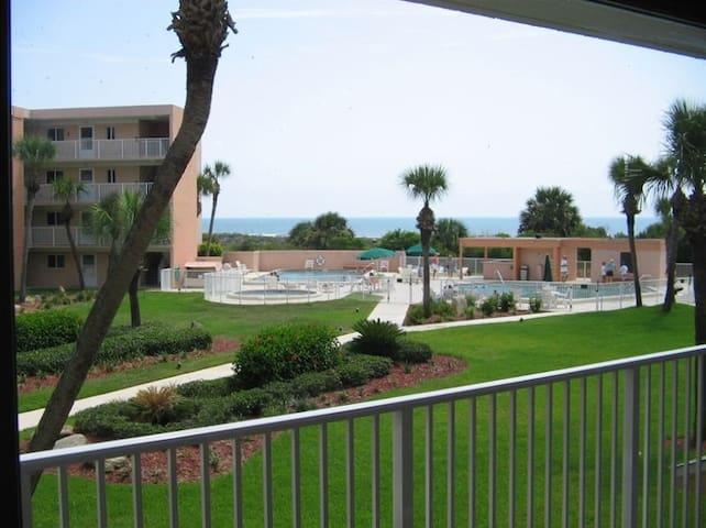 St Augustine Ocean View Condo - Saint Augustine - Condominium