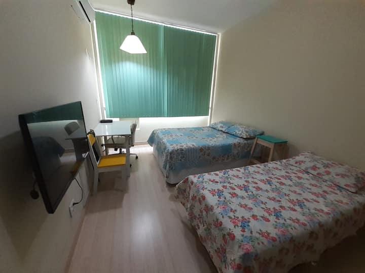 Ótimo Apartamento a 3 min da praia - Copacabana