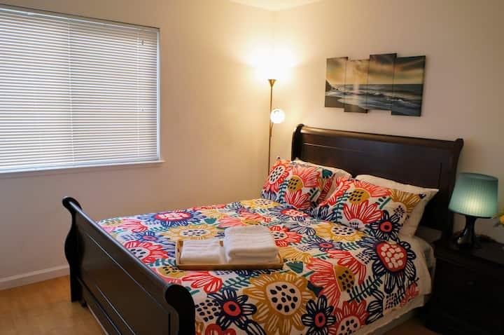 Sacramento Cozy Room(No.4) shared Bathroom