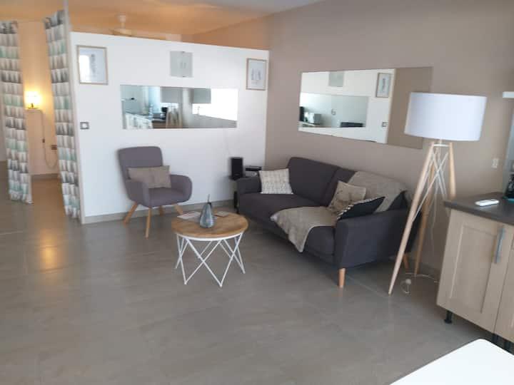 2 pièces de 60 m2 à la résidence Le Flamboyant