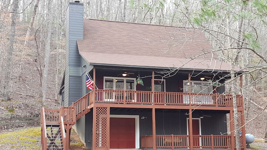Avalon by the Creek - Coosawattee River Resort - Ellijay - Huis