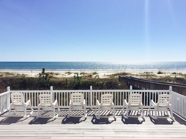 PRIVATE BEACHFRONT HOME *PET FRIENDLY BCH* w/KAYAK - Port Saint Joe - Casa