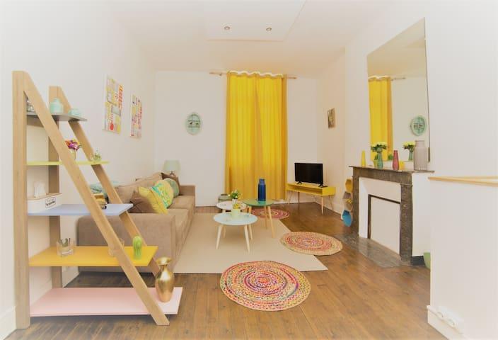 Spacieux Appartement Cosy, Centre-ville