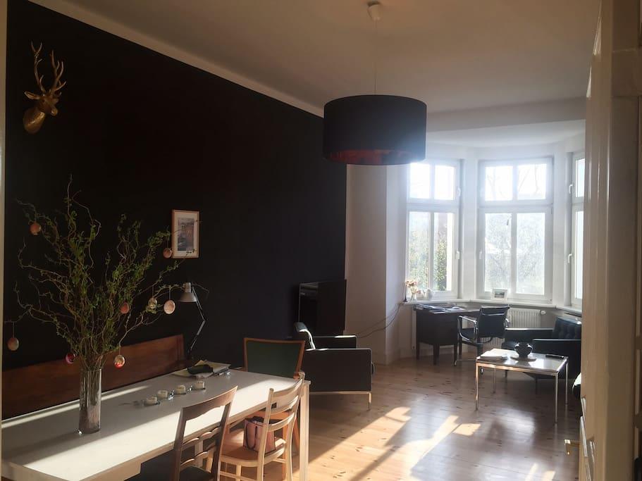 Livingroom from corridor