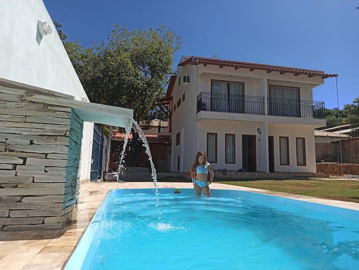 Casa Pirenópolis. Casa para até 6 pessoas.