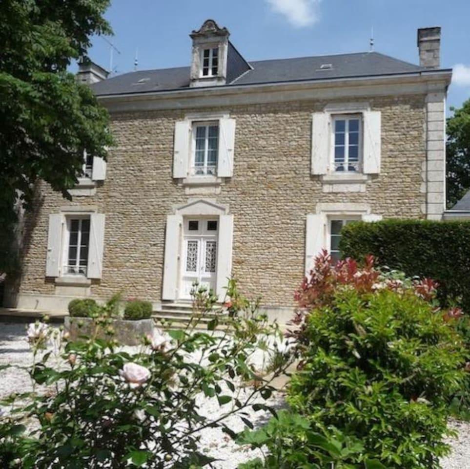 Coté Marais - maison principale