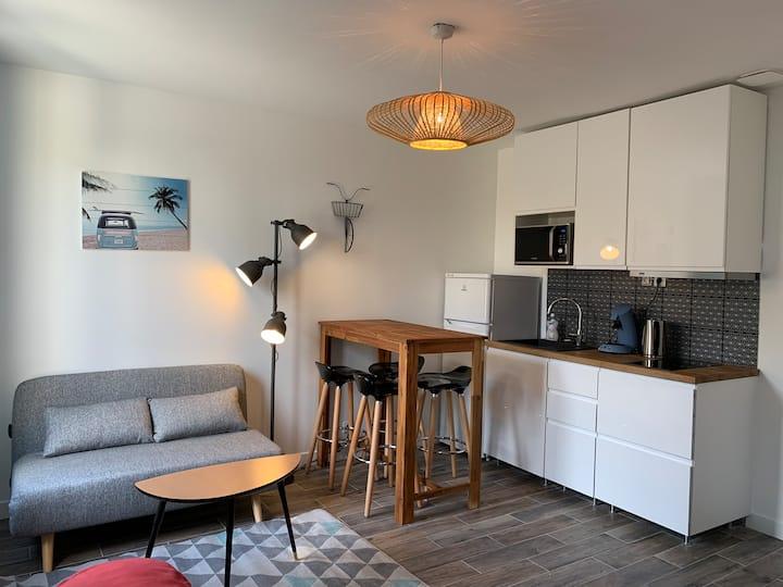 Duplex au calme en banlieue proche de Paris