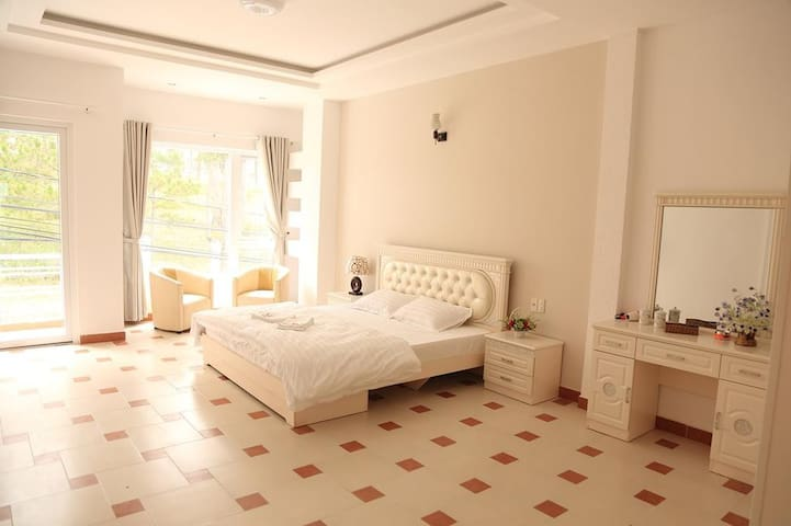 Double room with big balcony hill or garden view