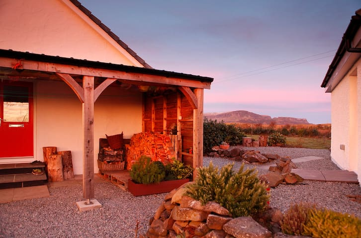 Double room, B&B, Staffin, near Old Man of Storr