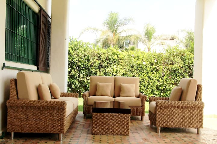 House with 5 bedrooms in Tetouan, with wonderful mountain view and enclosed garden