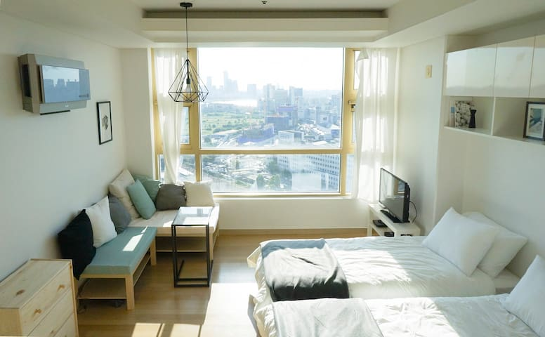 Perfect location/2mins metro! 2beds - Yongsan-gu - Appartement