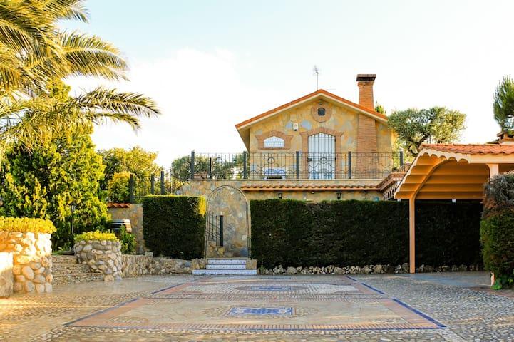 Villa Cristina. Desconexión y Relax - Calahorra - Hus