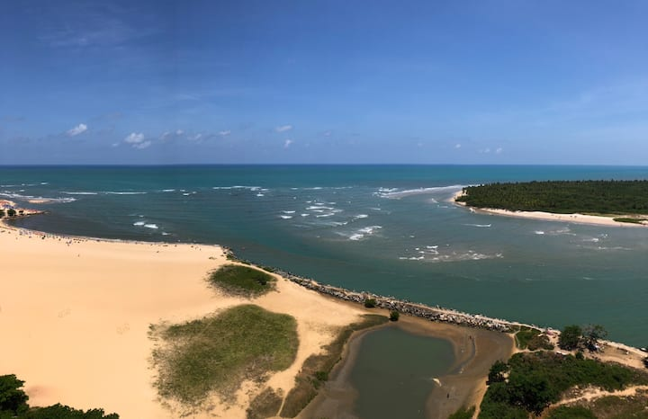 Apartamento praia beira-mar