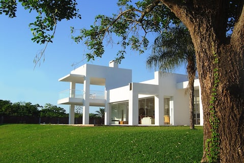 Luxury Villa inside exclusive Polo Club