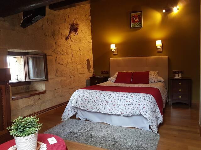 Habitación Standard Casa Rural La Molinera Etxea