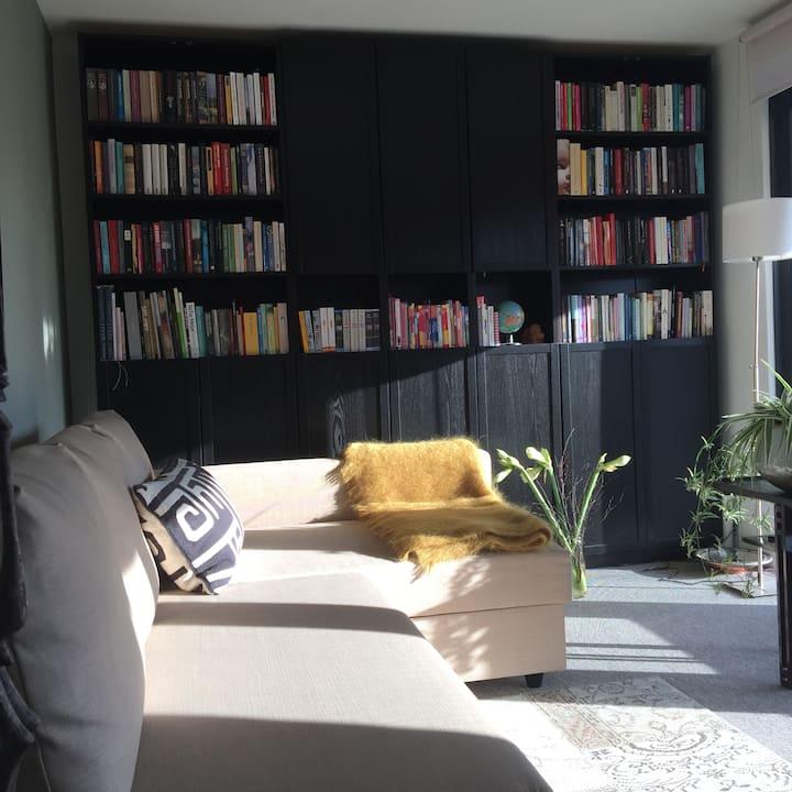 Sunny, peaceful, comfortable suite