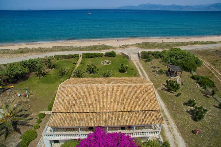 1st floor beach apt for 4 pax - Corfu - Appartement