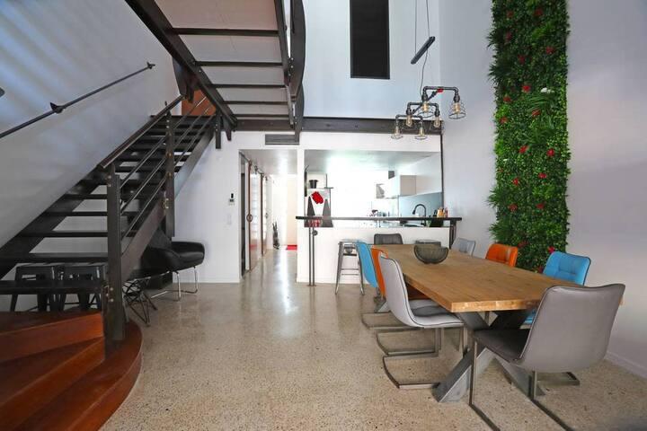 Chez Michel : loft d'architecte !