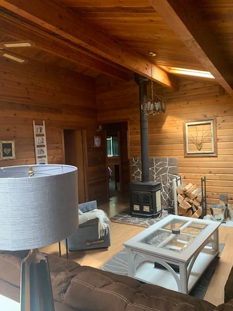 Fairmont Hot Springs cabin get away.