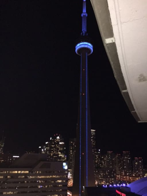 View of CN Tower from Balcony