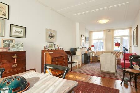 Sunny, peaceful apartment near Vondelpark