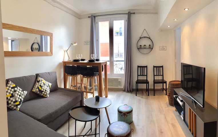 THE BARREL FLAT, Quartier Garibaldi proche PARIS