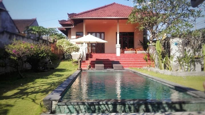 Big sunny 2br villa with pool. New with discount
