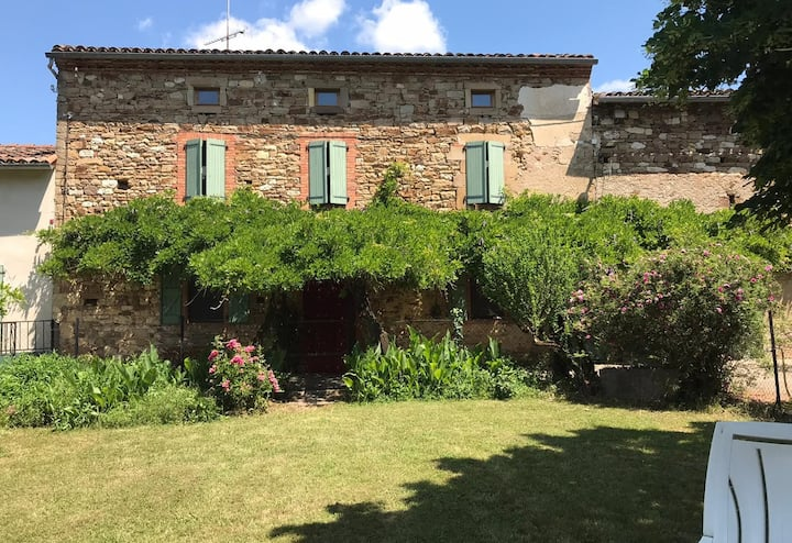 Maison vacances Ancienne ferme (12 pers) - piscine