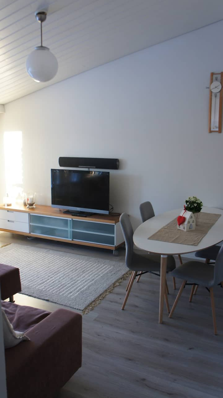 Cozy apartment with easy access to Lahti Ski Games