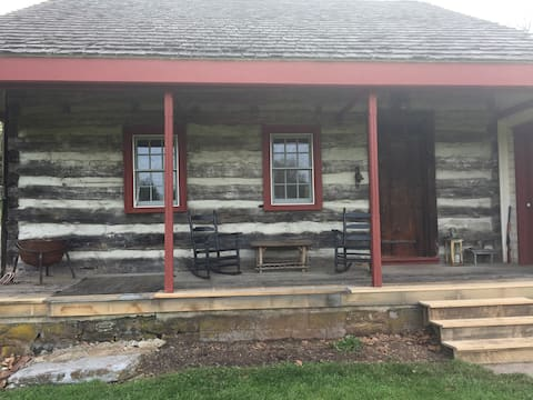 Log Farmhouse on 20 Acres Hershey and Hersheypark