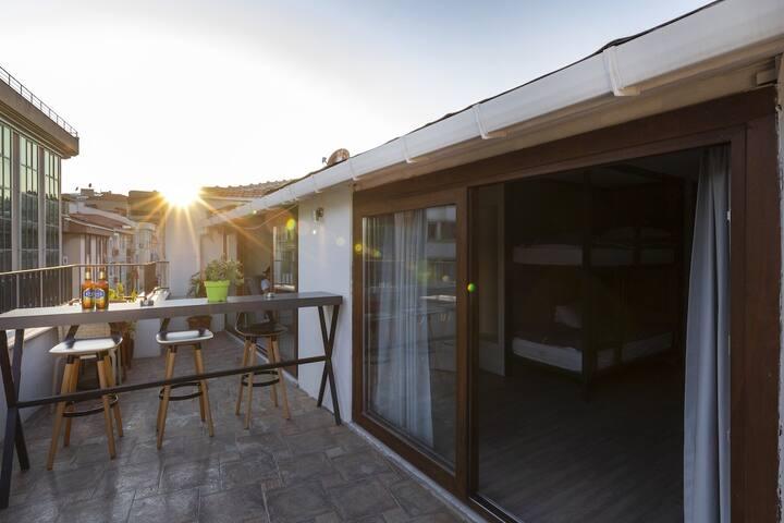 Monthly rent in Concept Hostel (Deluxe Room)